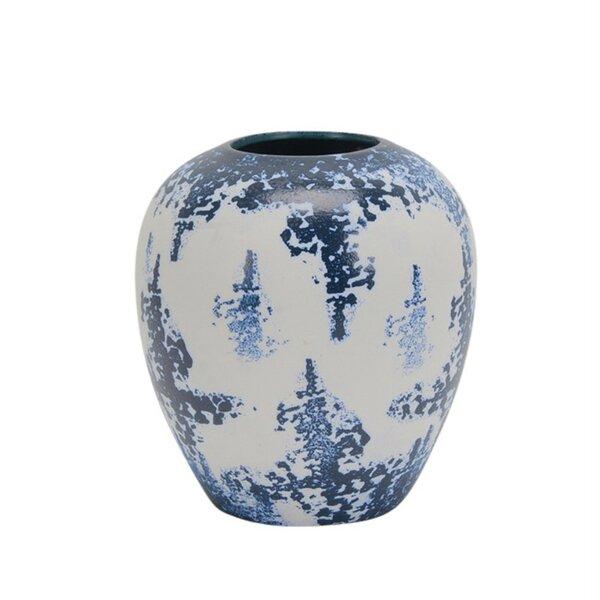 Palazzo Sasso Attractive Round Decorative Table Vase by Canora Grey