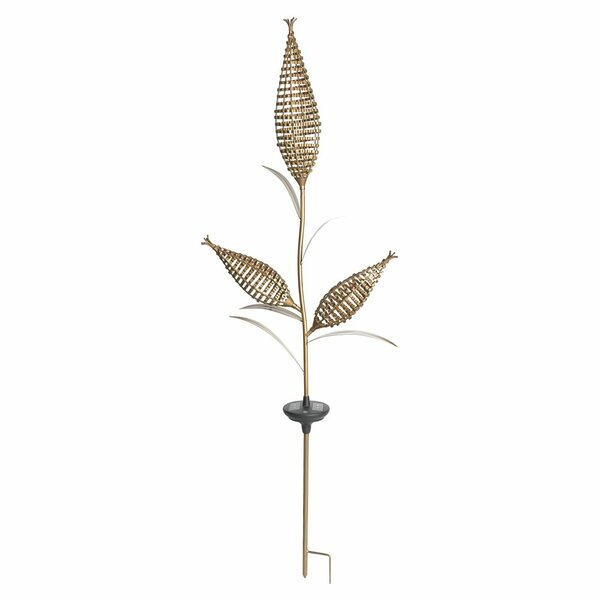 Yards & Beyond Solar 2 x Brighter Corn Garden Stake (Set of 2) by Jiawei Technology