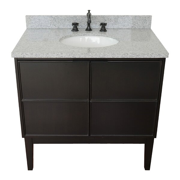 Embassy 37 Single Bathroom Vanity Set by Gracie Oaks