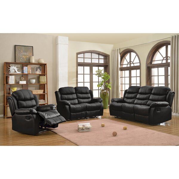 Nergis 3 Piece Reclining Living Room Set By Red Barrel Studio