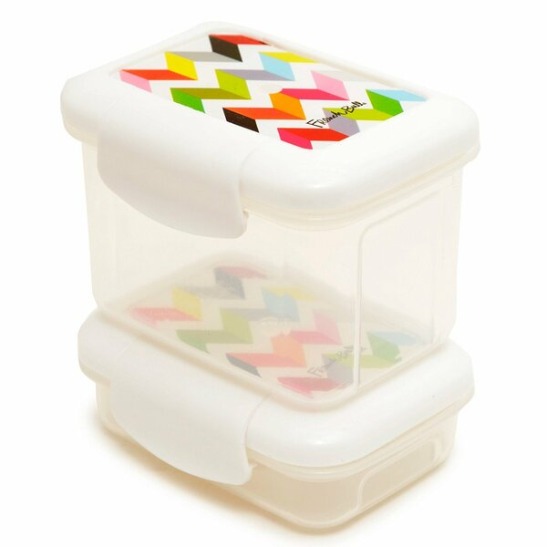 Ziggy Snack 2 Container Food Storage Set by French Bull
