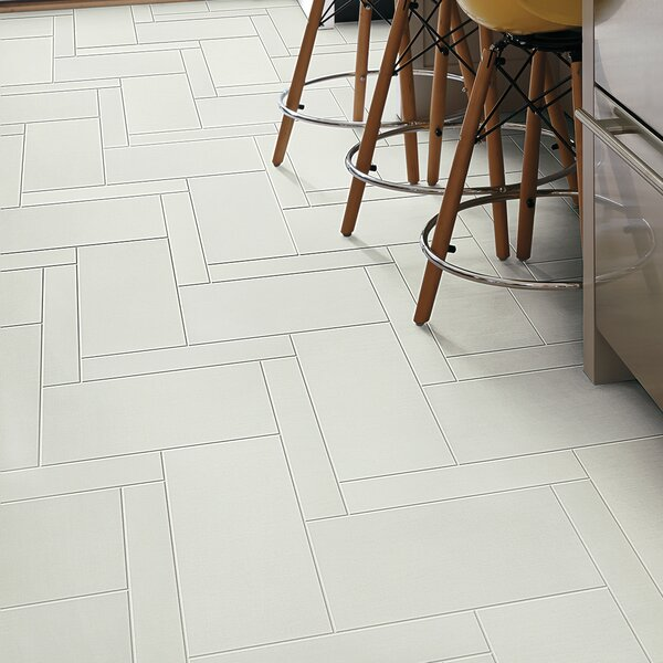 Fashion Show 12 x 24 Porcelain Field Tile in Cotton by PIXL