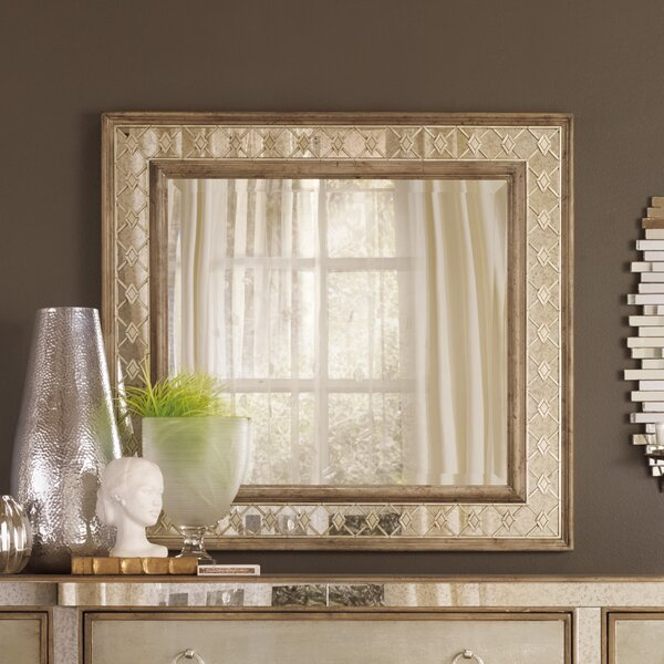 Sanctuary Rectangular Dresser Mirror by Hooker Furniture