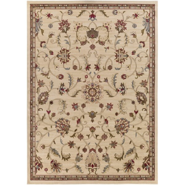 Gaskins Camel/Cinnamon Spice Area Rug by Charlton Home