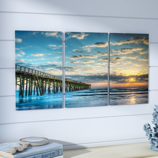 Merrymeeting 3 Piece Graphic Art Print Set by Beachcrest Home