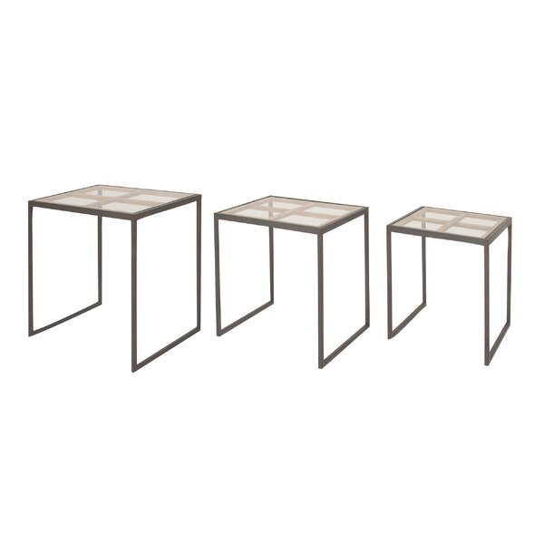 3 Piece Nesting Tables by Cole & Grey Cole & Grey