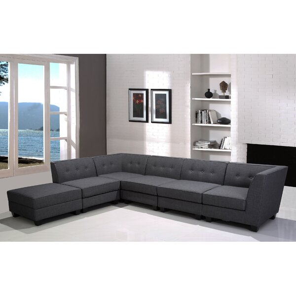 Trinh Modular Sectional with Ottoman by Latitude Run