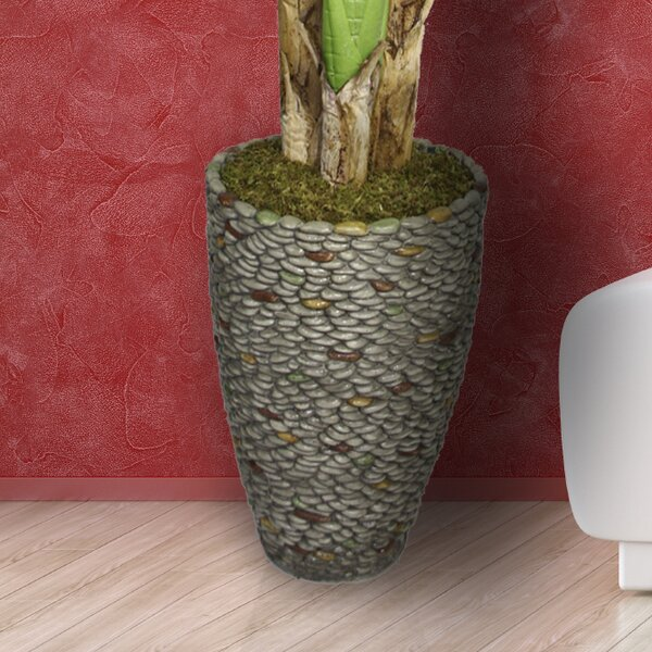 Hubbs Fiberstone Pot Planter by Highland Dunes