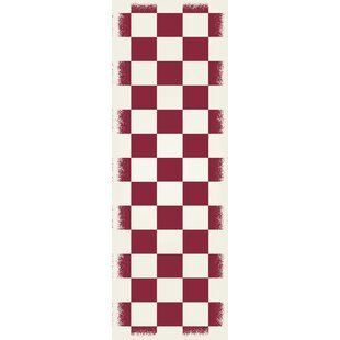 Looking for Wendel Design Red/White Indoor/Outdoor Area Rug By Winston Porter