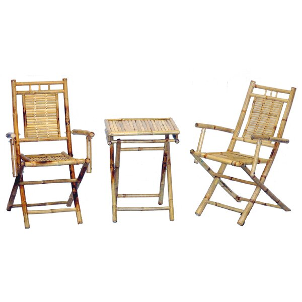 Karaman 3 Piece Bistro Set by Bay Isle Home