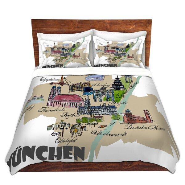 Tourist Munich Duvet Cover Set