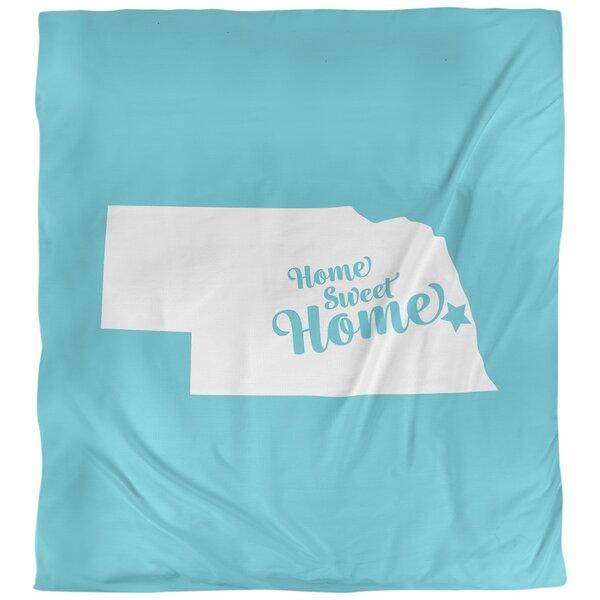 Home Sweet Omaha Duvet Cover
