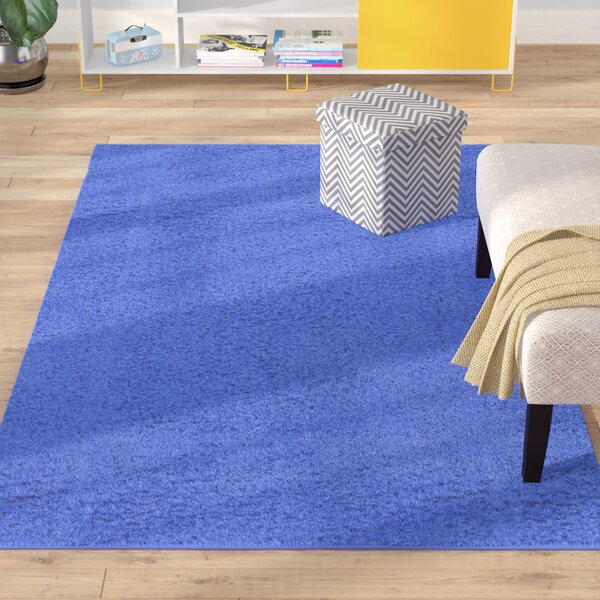 Madison Periwinkle Blue Area Rug by Zipcode Design