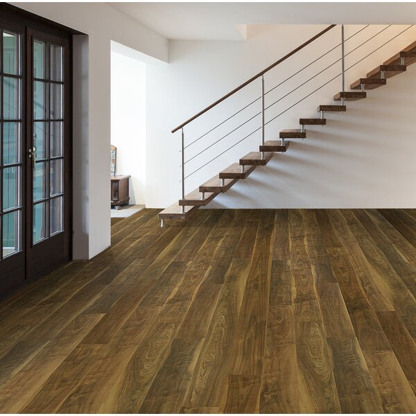 Skyscrappers 7.5 x 72 x 12mm Walnut Laminate Flooring in Empire State Building by Bellami
