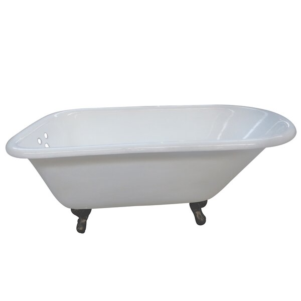 Aqua Eden 54 x 30.13 Soaking Bathtub by Kingston Brass