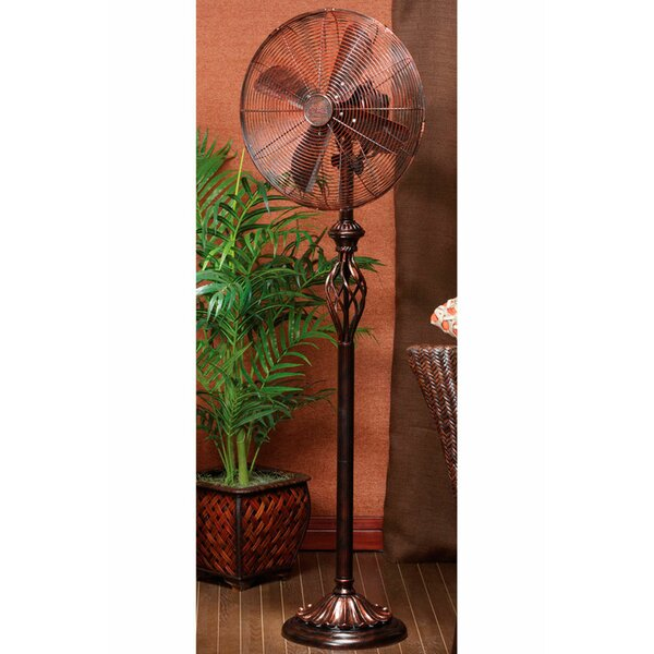 Bricee 16 Oscillating Floor Fan by Fleur De Lis Living