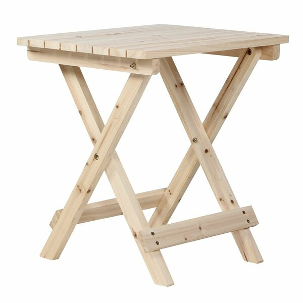 Tammaro Rustic Folding Side Table by Millwood Pines