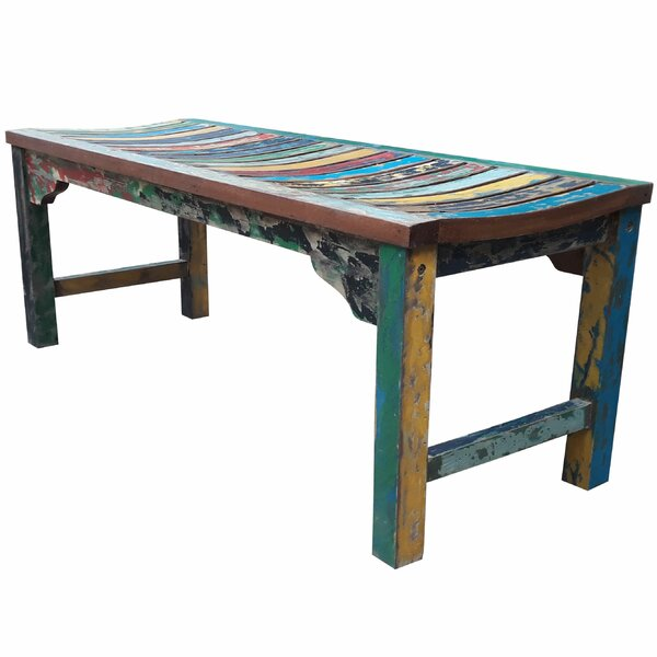 Bowley Wood Bench by Rosecliff Heights