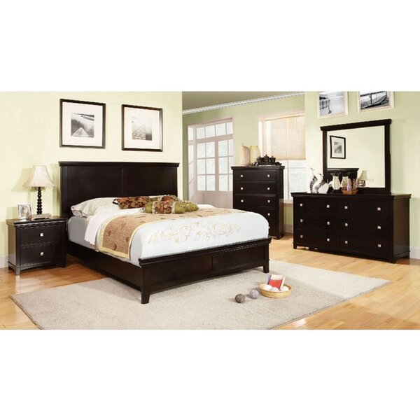 Maser Sleigh 5 Piece Bedroom Set (Set of 5) by Charlton Home