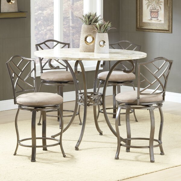 Treutlen 5 Piece Pub Table Set by Red Barrel Studio