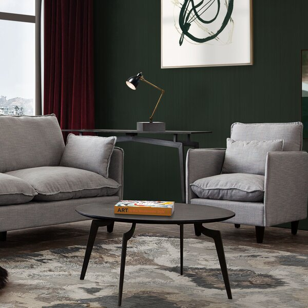 Eclipse Coffee Table With Tray Top By Diamond Sofa