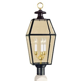 Top Reviews Alam Outdoor 3-Light Lantern Head By Darby Home Co