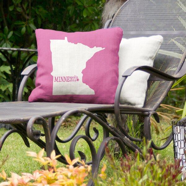 Minneapolis Indoor/Outdoor Throw Pillow