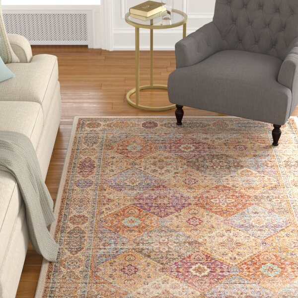 Enlow Ivory Area Rug by Darby Home Co
