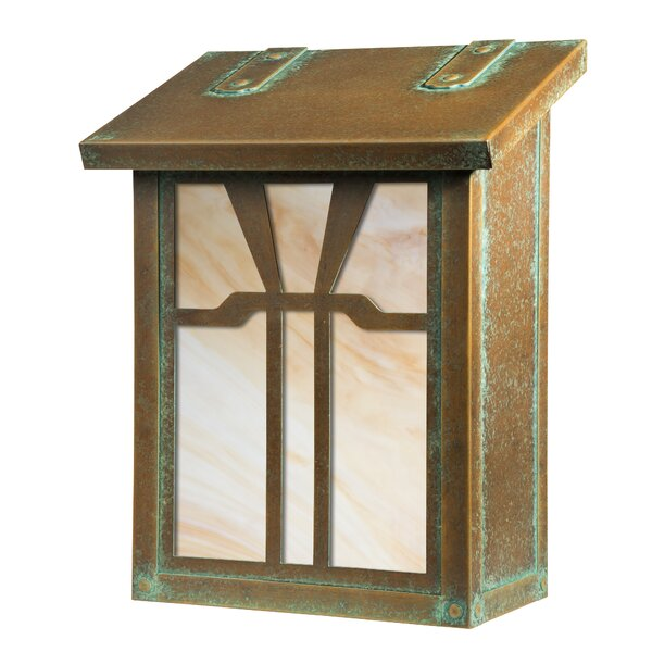 Gamble Verical Wall Mounted Mailbox by America's Finest Lighting Company