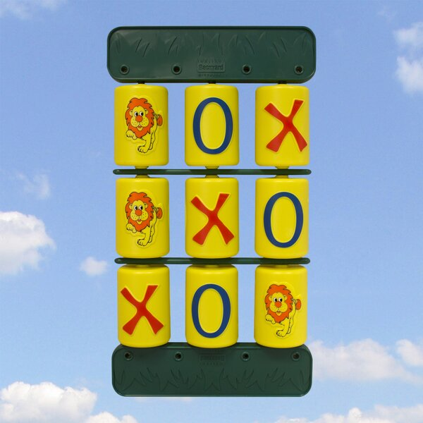 Tic-Tac-Toe Game by Backyard Discovery