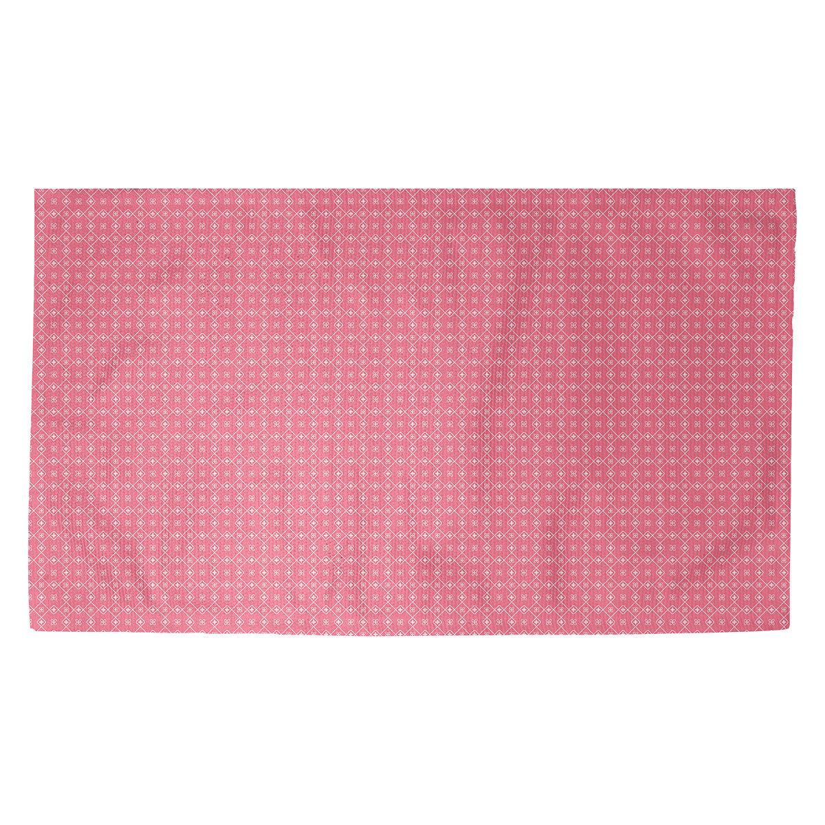 Latitude Run Avicia Doily Pink Area Rug Wayfair