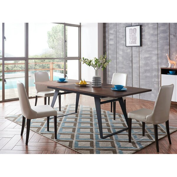 Alayziah 5 Piece Extendable Dining Set by Brayden Studio Brayden Studio