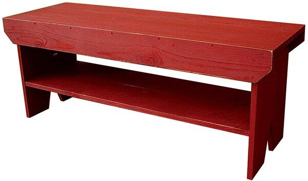 Wray Wood Storage Bench by Winston Porter