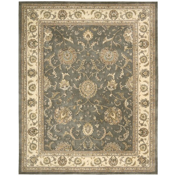 Media Hand-Tufted Gray Area Rug by Darby Home Co