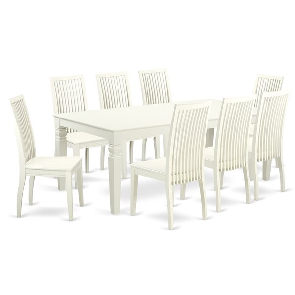 Beesley Solid Wood Dining Set by Darby Home Co Darby Home Co