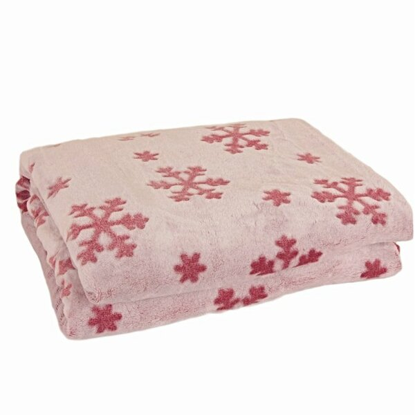 Edson Passion For Snowflakes Plush Throw by The Holiday Aisle