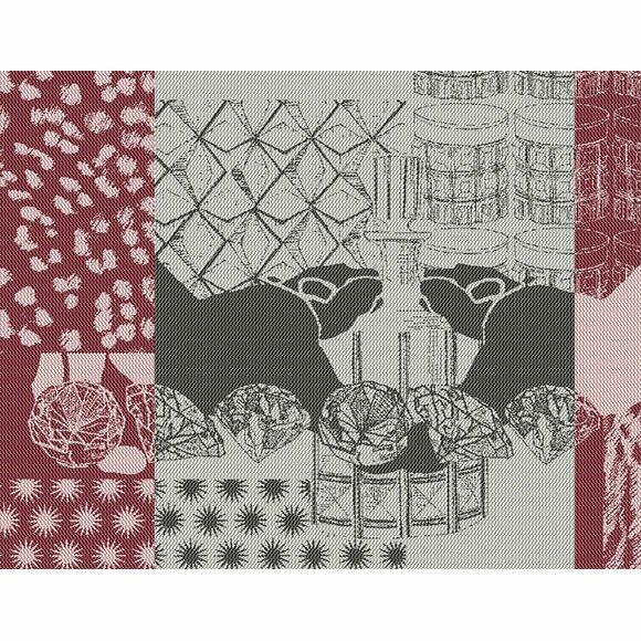 Safari Lounge B Placemat (Set of 4) by Garnier-Thiebaut Inc
