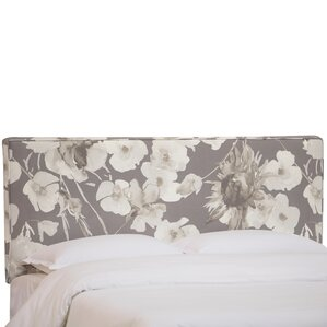 Zanuck Upholstered Panel Headboard by House of Hampton