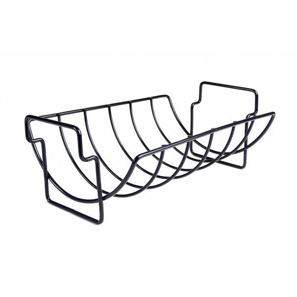 Non-Stick Reversible Roasting / Rib Rack by Charcoal Companion