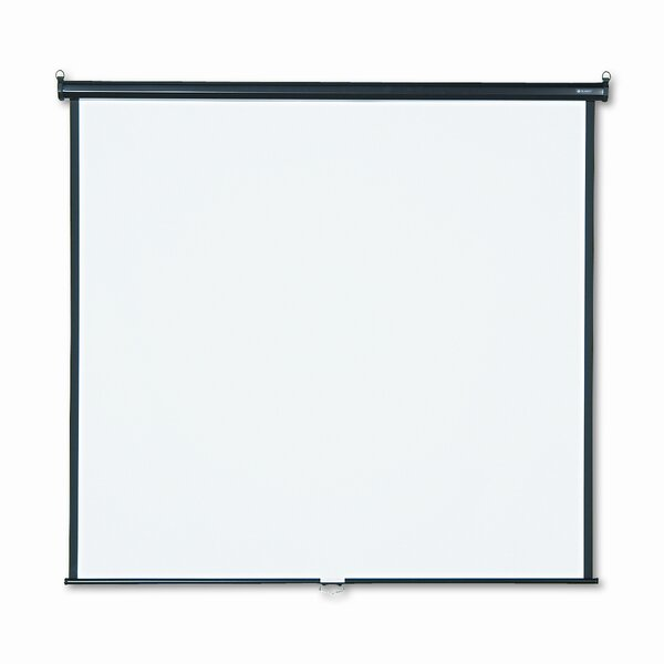 Matte White Manual Projection Screen by Quartet®
