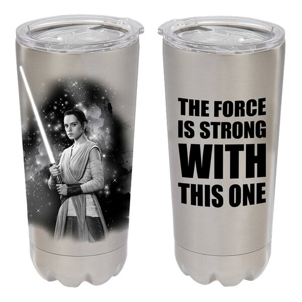 Star Wars Rey 20 oz. Stainless Steel Travel Tumbler by Vandor LLC