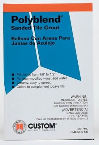 Sanded Tile Grout 7lb (Set of 4) by Custom Building Products