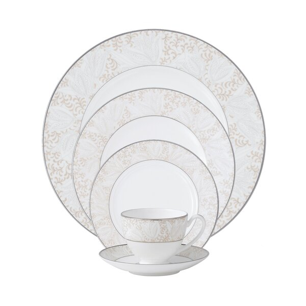 Bassano Bone China 5 Piece Place Setting, Service for 1 by Waterford