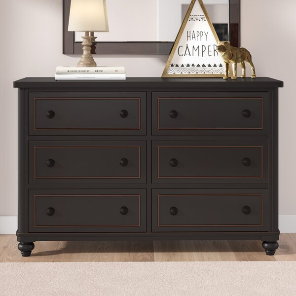 Leyla 6 Drawer Double Dresser by Grovelane Teen