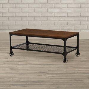 Extendable Coffee Table rectangle extendable coffee table | wayfair