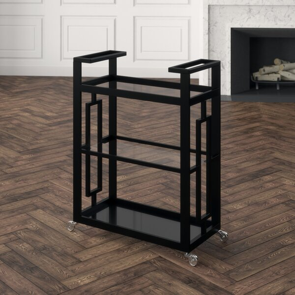 Grid Block Bar Cart by Global Views
