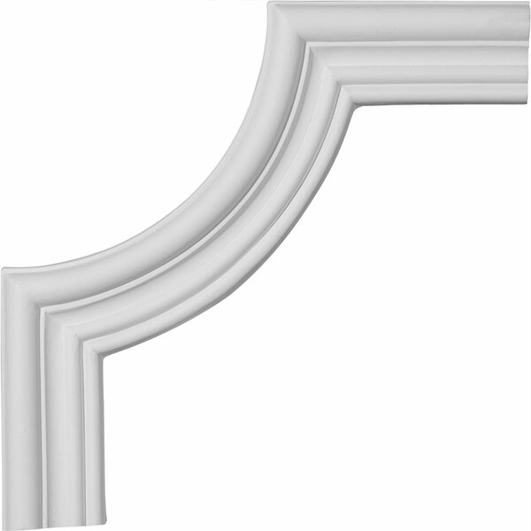 Claremont 8 3/4H x 8 3/4W Panel Moulding Corner by Ekena Millwork