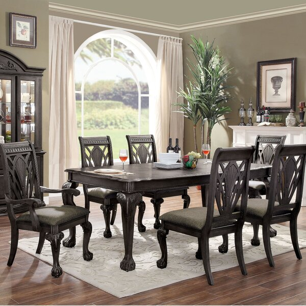Ainsley 7 Piece Extendable Dining Table Set by Astoria Grand Astoria Grand
