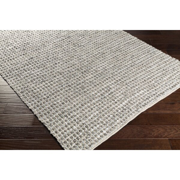 Laflin Hand-Woven Gray Area Rug by Gracie Oaks