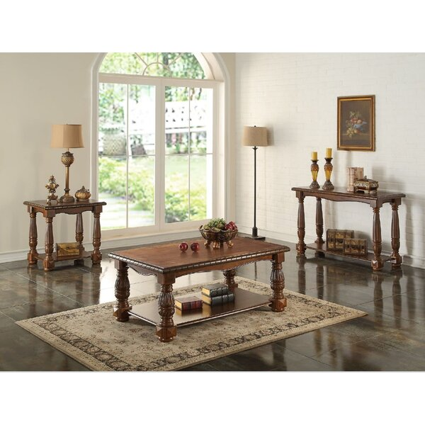 Arnold 3 Piece Coffee Table Set By A&J Homes Studio